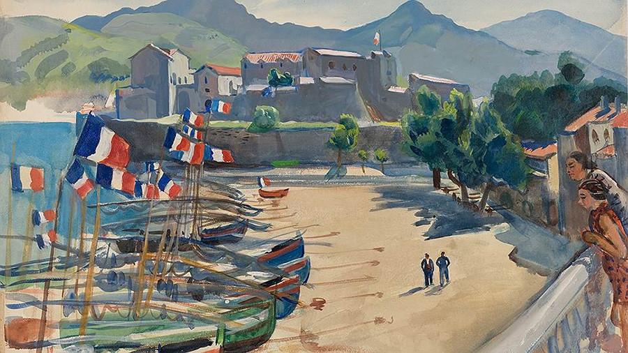 """Порт Коллиур"", 1930"