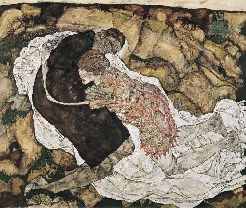 """""""Смерть и девушка"""", 1915"""