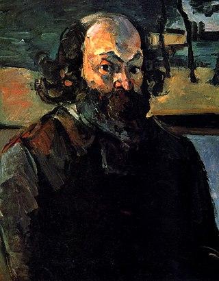 """Поль Сезанн """"Автопортрет"""", 1875"""
