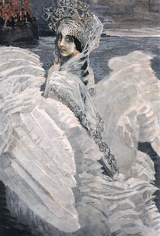 """Царевна-Лебедь"", 1900"