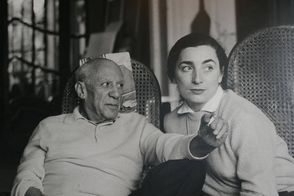 Пабло Пикассо и Жаклин Рок