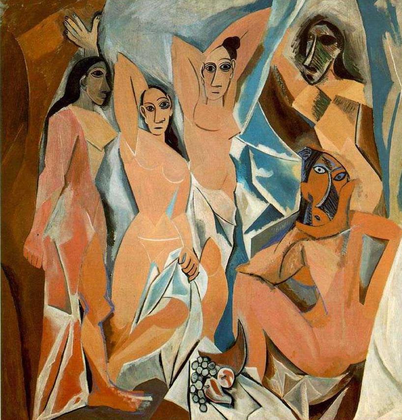 """Пабло Пикассо """"Авиньонские девицы"""", 1907"""