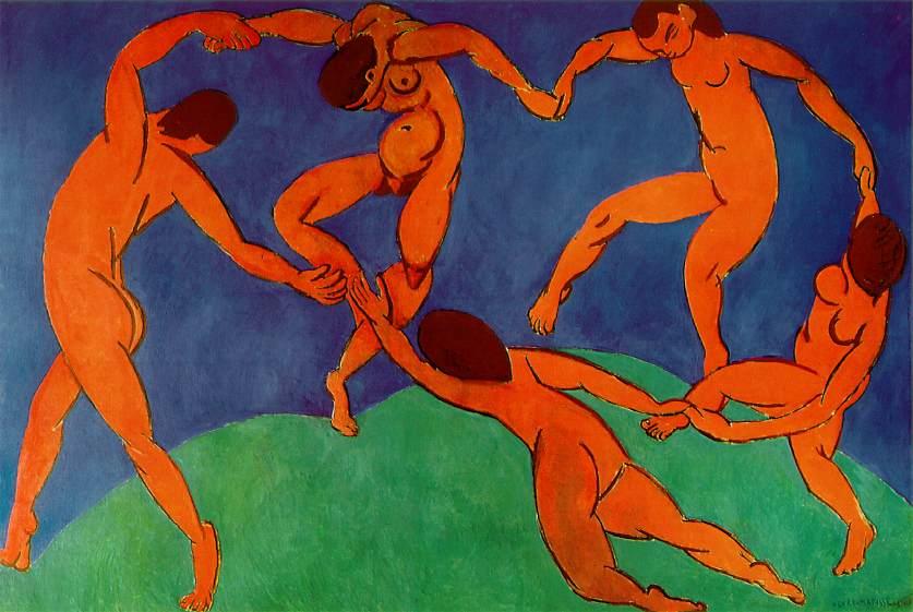 """Анри Матисс """"Танец"""", 1910"""
