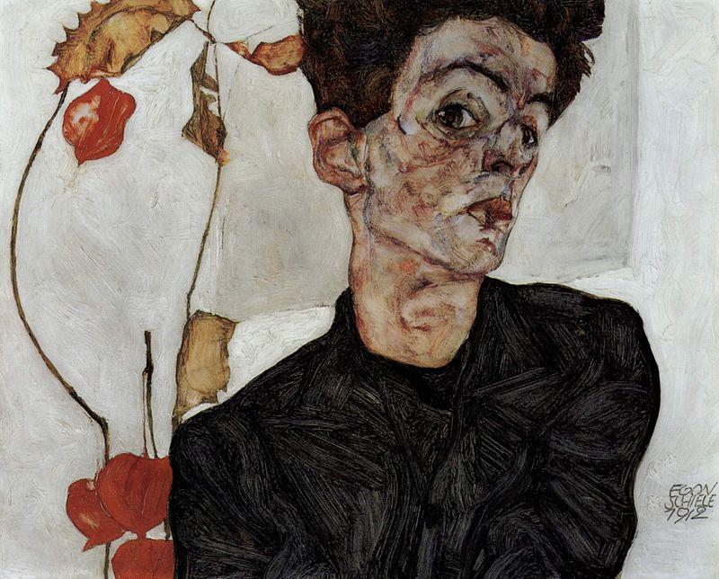 """""""Автопортрет"""", 1912"""