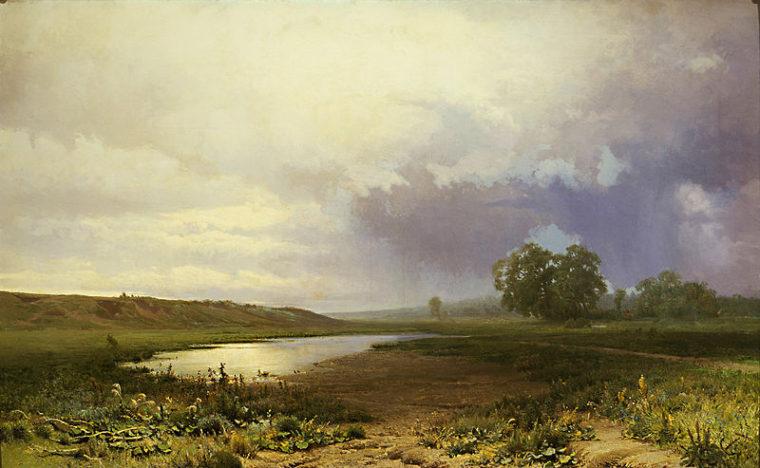 """""""Мокрый луг"""", 1872"""