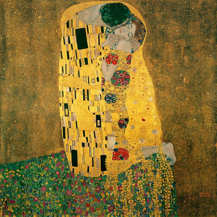 """Картина """"Поцелуй"""" - самая яркая работа """"золотого"""" периода художника"""