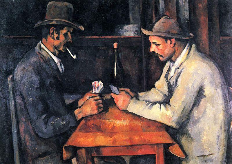 """""""Игроки в карты"""" из собрания эмира Катара"""