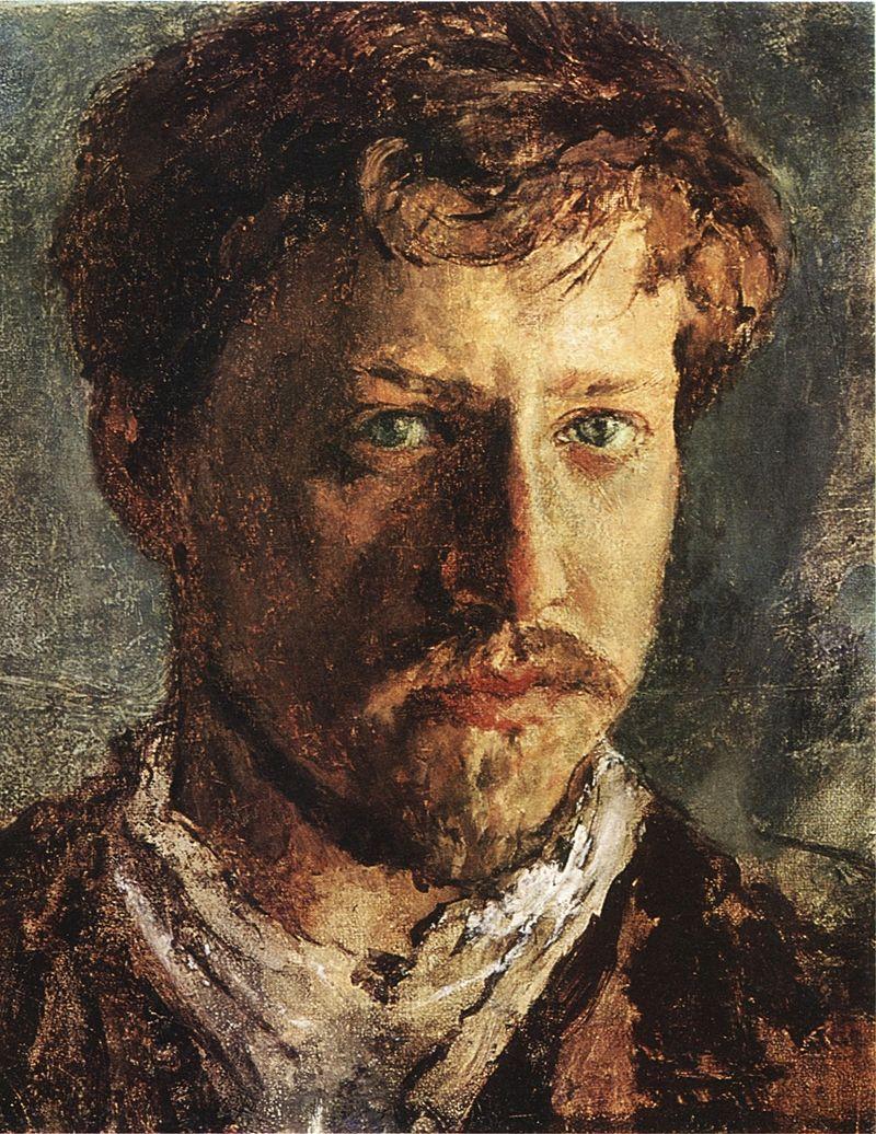 """Валентин Серов, """"Автопортрет"""", 1880-е"""