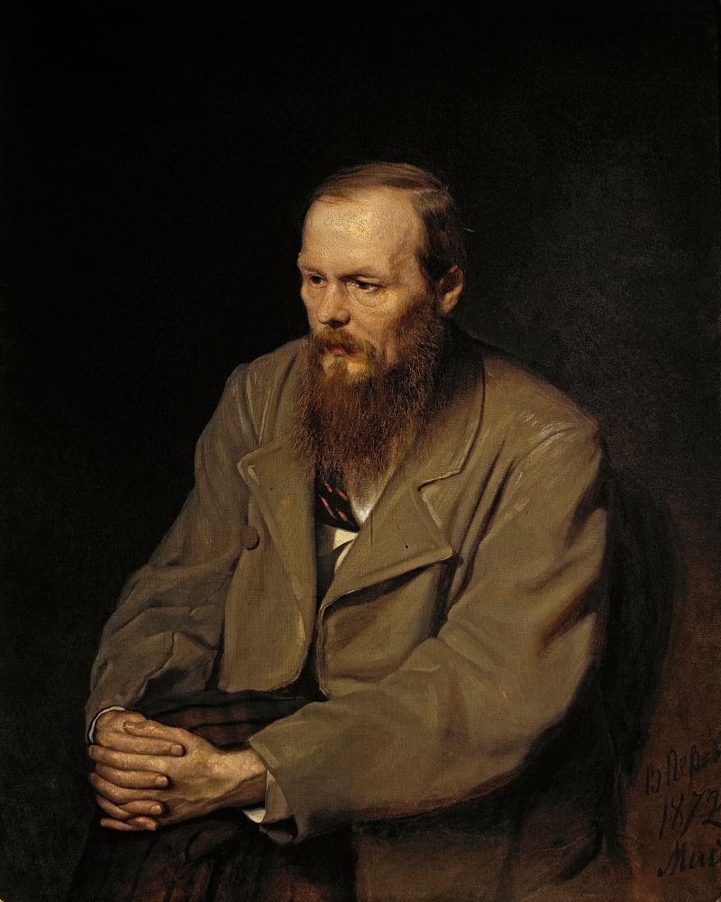 """Василий Перов """"Портрет Ф. М. Достоевского"""", 1872"""