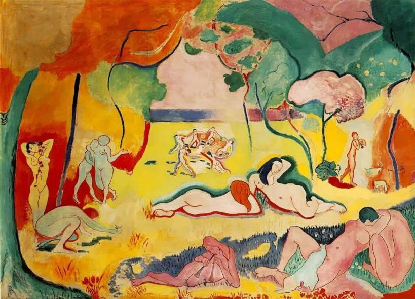"Анри Матисс ""Счастье жизни"", 1905-1906"