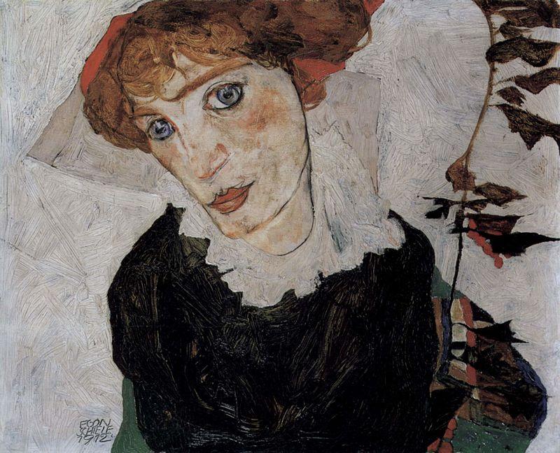 """""""Портрет Валли Нойциль"""", 1912"""