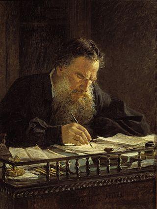 """Николай Ге """"Портрет Л. Н. Толстого"""", 1884"""
