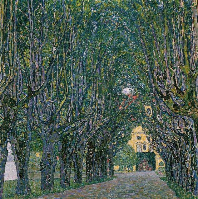 """""""Аллея в Шлосс Каммер Парке"""", 1912"""