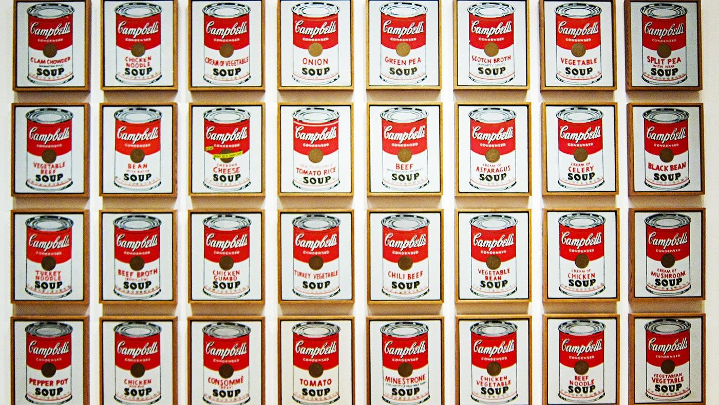 """Энди Уорхол """"Банки с супом Кэмпбелл"""", 1962"""