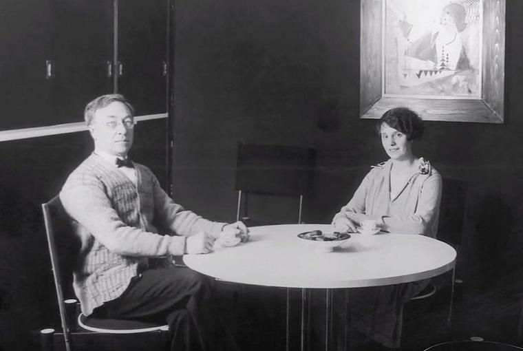 Василий Кандинский с женой Ниной