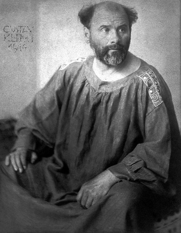 """Некоторые искусствоведы считают, что в """"Поцелуе"""" Климт изобразил себя"""