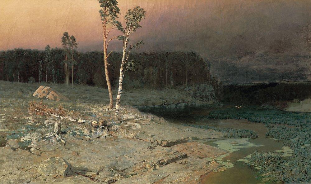 """Архип Куинджи """"На острове Валааме"""", 1873"""