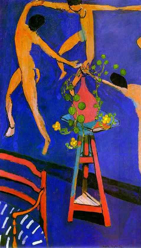 "Анри Матисс ""Танец с настурциями"", 1912"