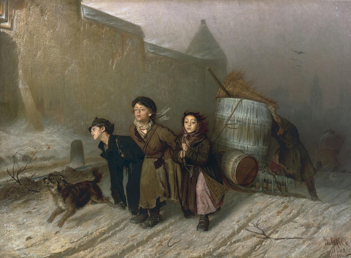 """Василий Перов """"Тройка"""", 1866"""