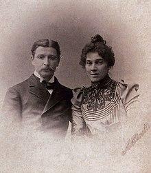 Михаил Врубель и Надежда Забела, 1896 год