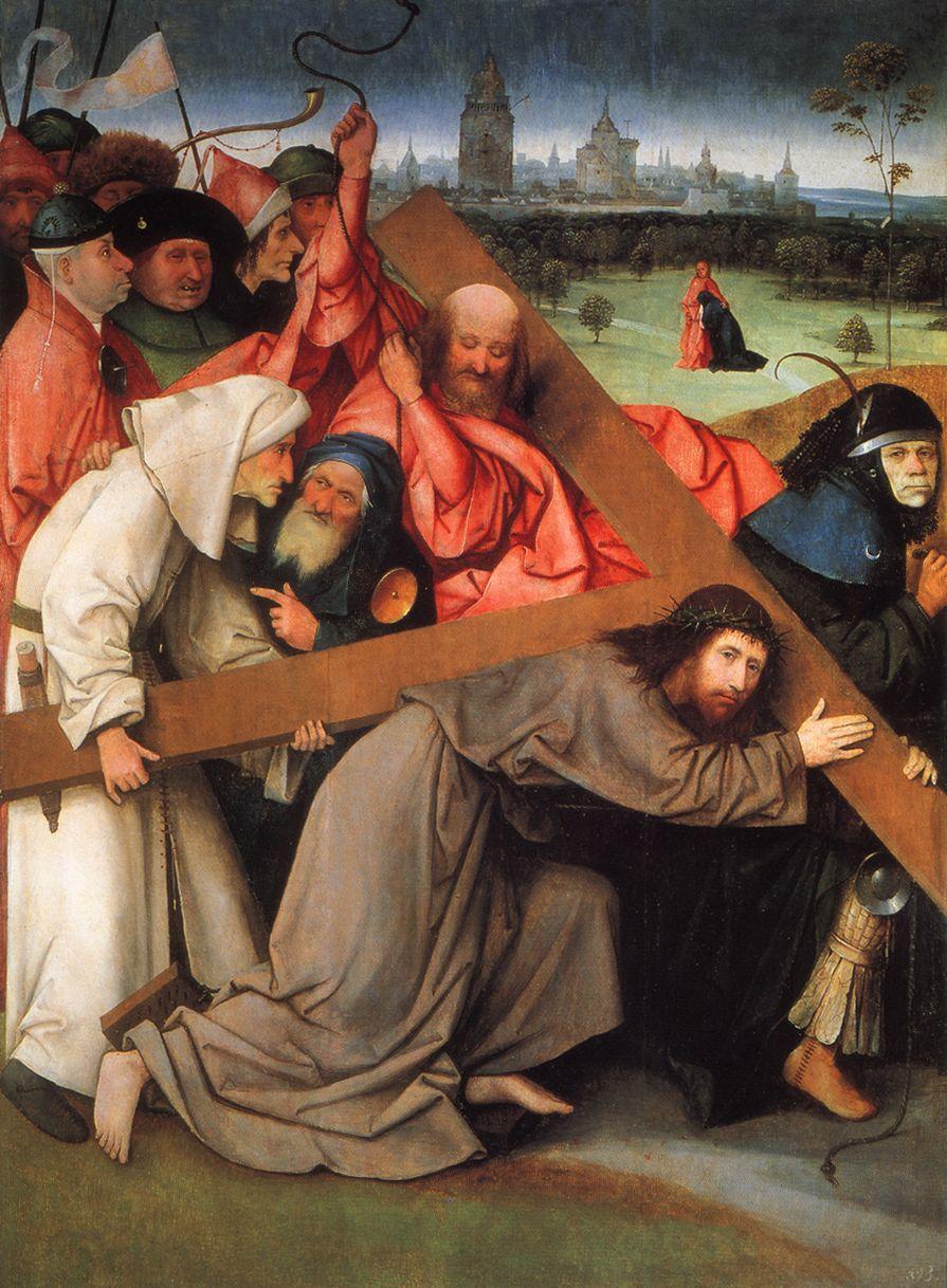 """Иероним Босх """"Несение креста"""", 1505"""