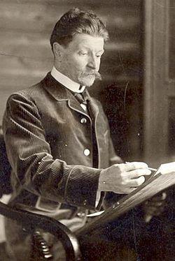 Михаил Врубель, фото 1898 года