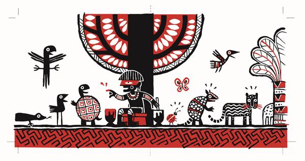 Иллюстрация бразильского художника Marcelo Pimentel -победителя 2015 года