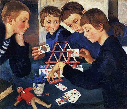 """""""Карточный домик"""" Серебрякова написала после смерти мужа в 1919 году"""