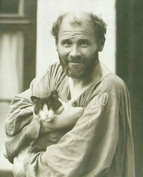 Климт любил кошек