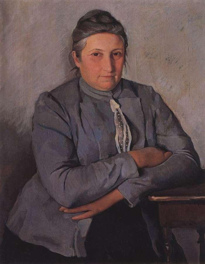 """Зинаида Серебрякова """"Портрет Е. Н. Лансере, матери художницы"""", 1912"""