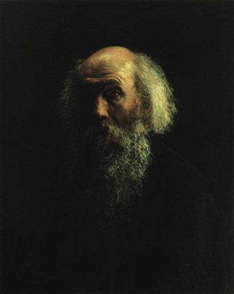 """Этот """"Автопортрет"""" - одна из последних работ художника"""