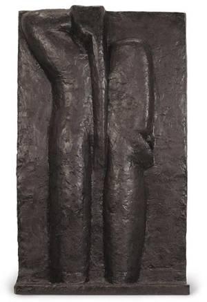 Скульптура Анри Матисса «Обнаженная женская фигура со спины IV»