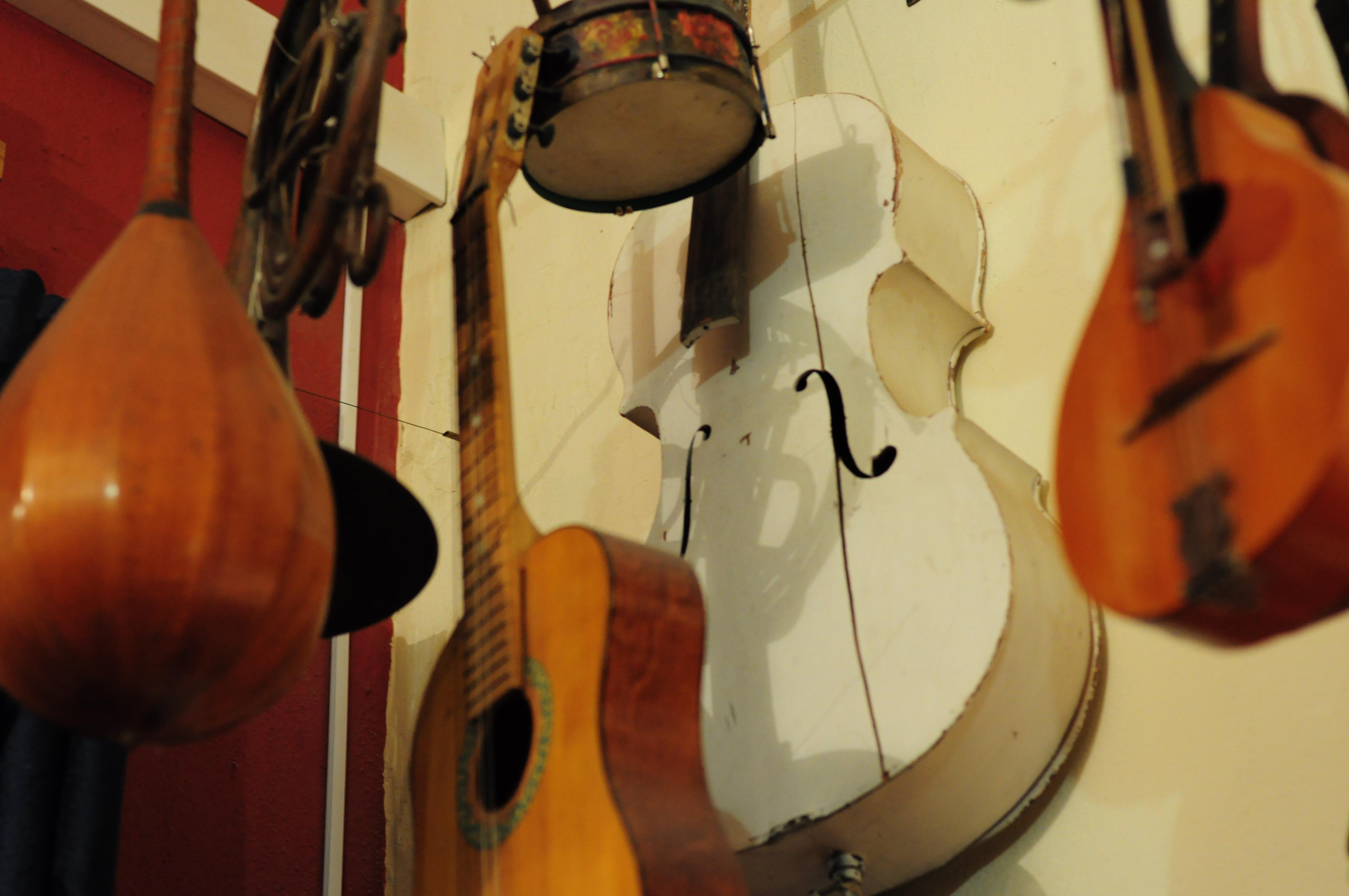 Музыкальные инструменты часто используются для натюрмортов (фото Марина Демченко)