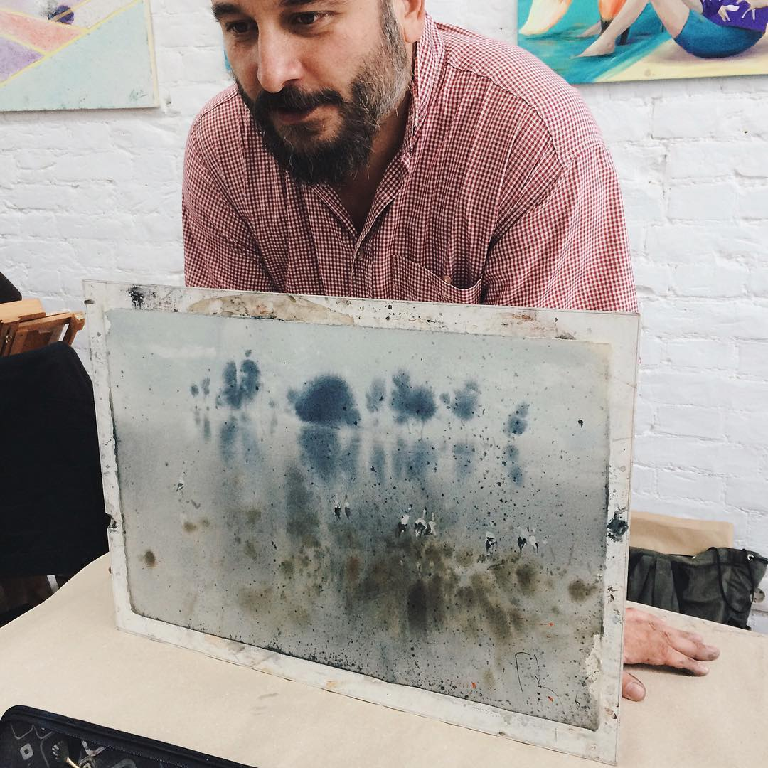 Денис Петруленко на мастер-классе в арт-студии Supreme