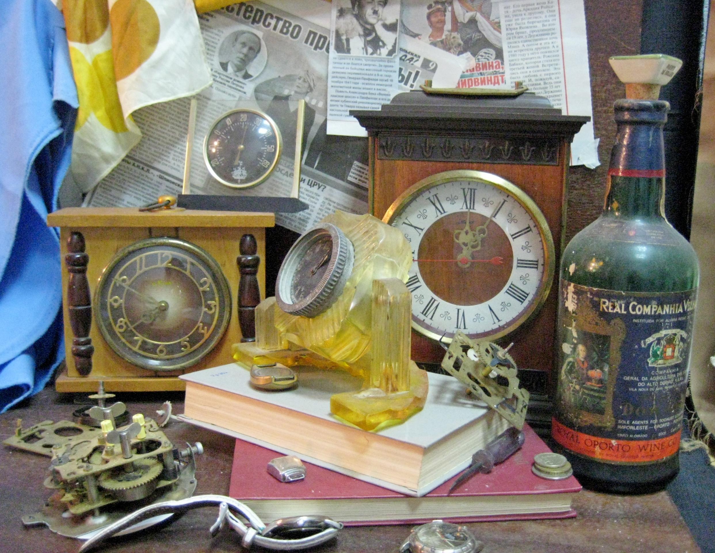 Старинная бутылка, пережившая два века