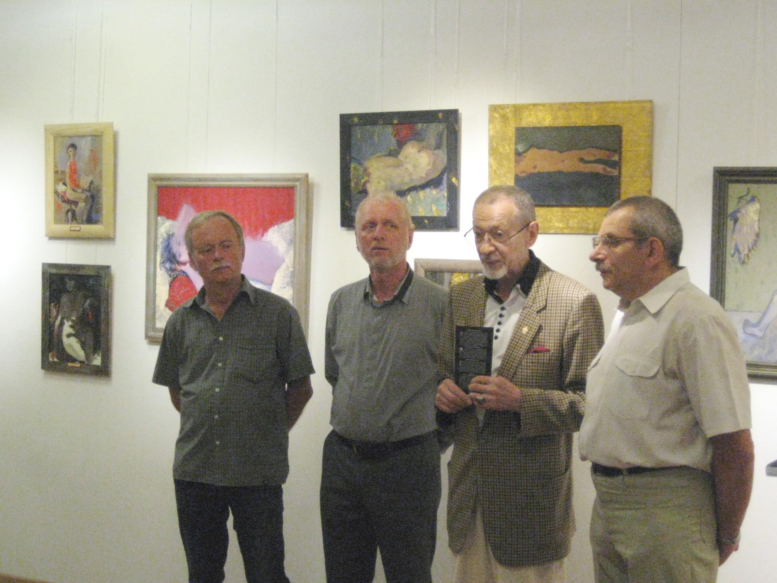 Слева направо: Юрий Астапченко, Алексей Загородных, Владимир Добромиров и Владимир Голуб