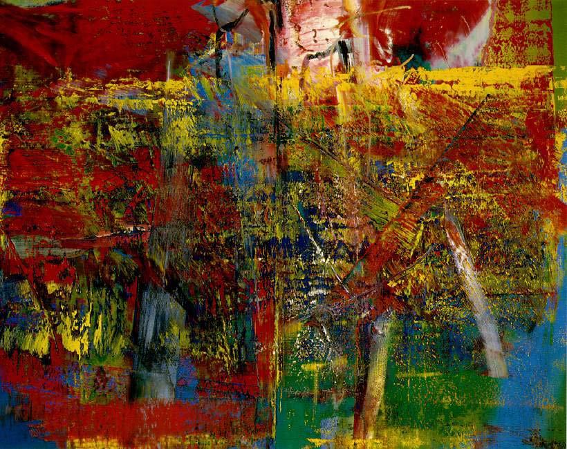 """Герхрад Рихтер """"Медитация"""", 1986"""