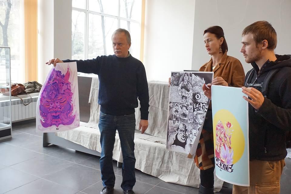 Отбор участников для выставки (фото Сергей Горшков)