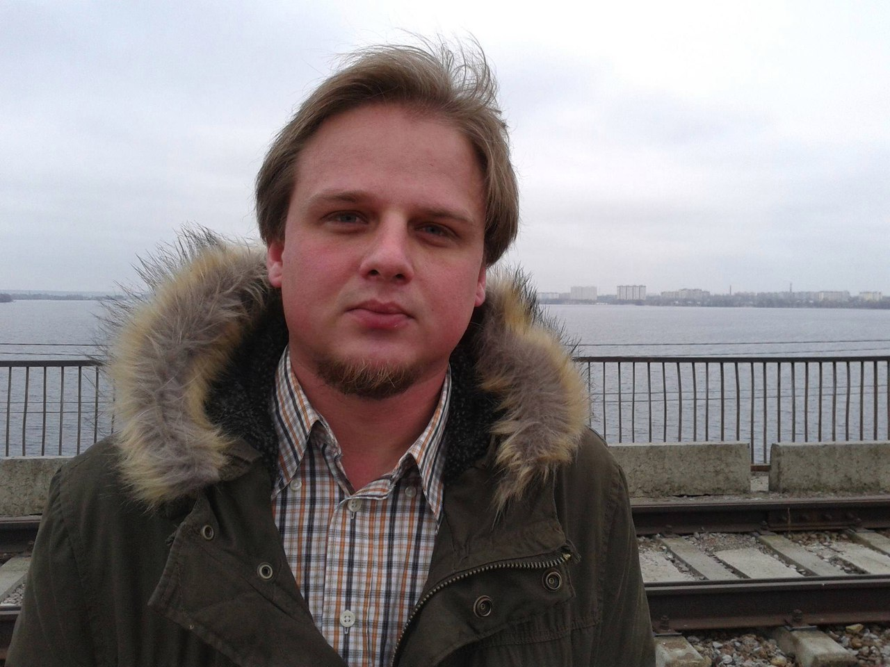 Серегй Ряполов (фото из личного архива художника)