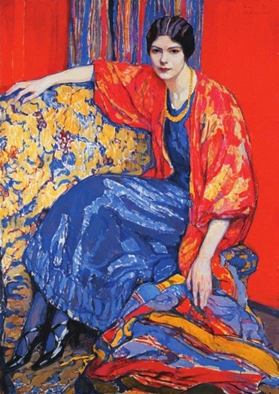 """Елена Киселева """"Маруся"""", 1913"""