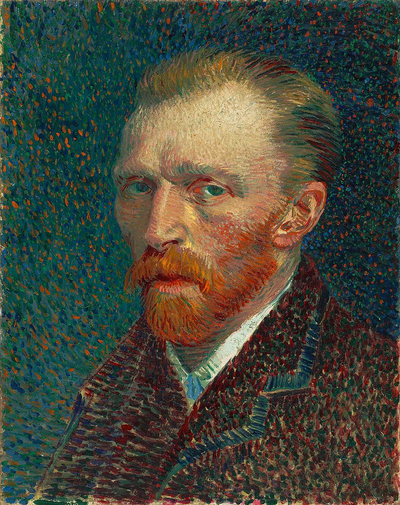 """Винсент Ван Гог """"Автопортрет"""" 1887"""