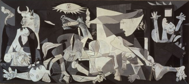 """Пабо Пикассо """"Герника"""", 1937"""
