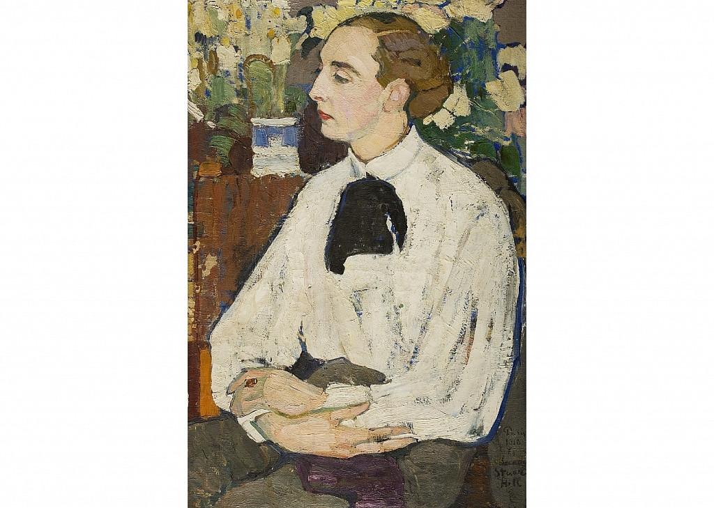 """Елена Киселева """"Портрет Санди"""", 1910 год"""