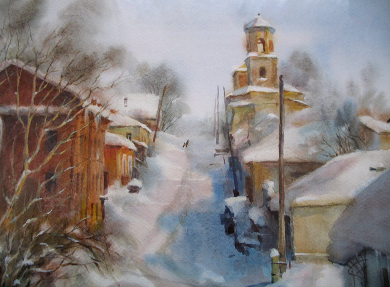 zima-na-ul_-pervomajskoj_-iz-serii-staryj-voronezh_-bumaga_-akvarel_-24h34