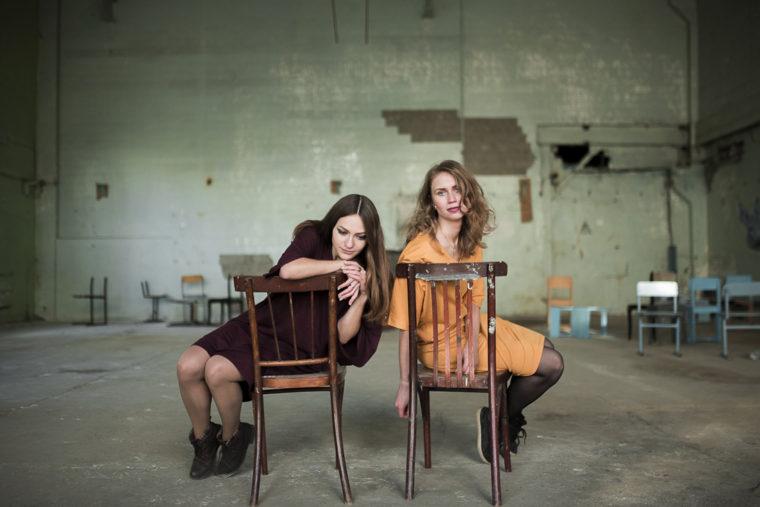 Марина Демченко и Алина Закурдаева (фото Никиты Скляревского)