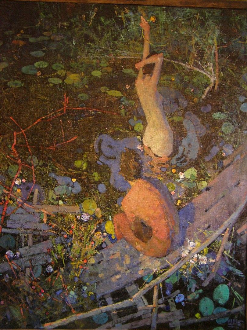 Картина Игоря была продана за 6500 евро