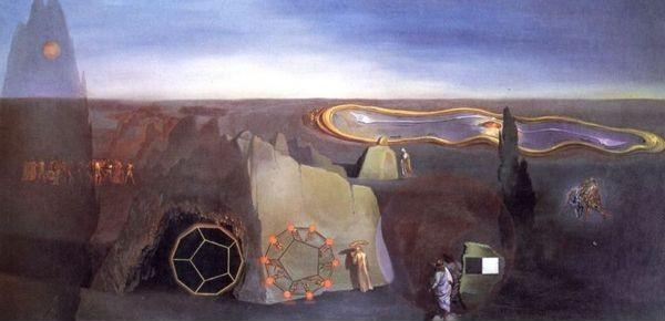 """Сальвадор Дали """"В поисках четвертого измерения"""", 1979"""