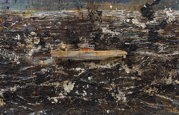 """Работа Ансельма Кифера """"Набросок войны: битвы у моря"""", посвященная Велемиру Хлебникову, была продана за 2,38 млн фунтов стерлингов"""