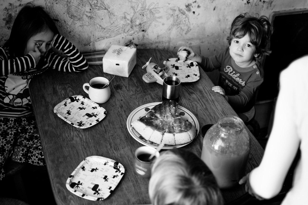 Семья художника (фото из личного архива Игоря Щербакова)