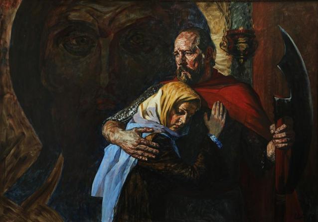 """Андрей Дроздов """"Защитники Смоленска 1609 года, 2013"""